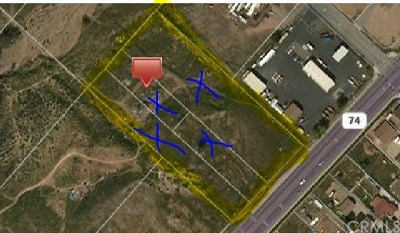 Lake Elsinore Residential Lots & Land For Sale: Highway 74