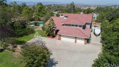 Riverside, Temecula Single Family Home For Sale: 17261 Mariposa Avenue
