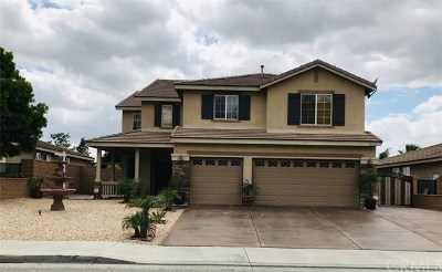 Menifee Single Family Home For Sale: 29203 Mesa Crest Way