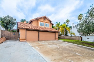 Corona CA Single Family Home For Sale: $585,000