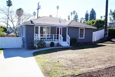 Riverside Single Family Home For Sale: 7272 Lenox Avenue