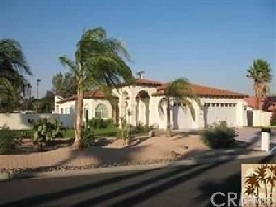 Palm Springs Single Family Home For Sale: 2700 E Vincentia Road