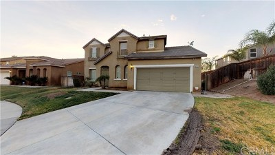 Moreno Valley Single Family Home For Sale: 14651 Round Leaf Road