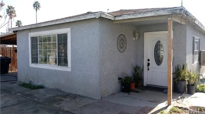 Perris Single Family Home For Sale: 151 E 11th Street