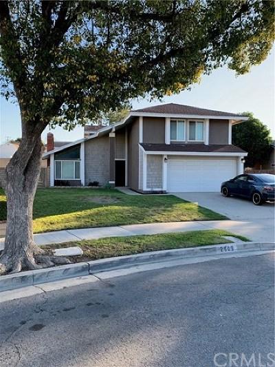 Ontario Single Family Home For Sale: 2609 S Marigold Avenue