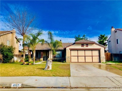 Perris Single Family Home For Sale: 2157 Wilson Avenue
