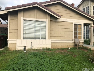 Moreno Valley Single Family Home For Sale: 23790 Parkland Avenue