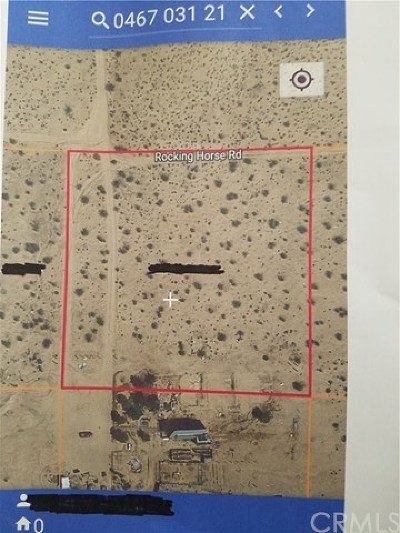 Helendale Residential Lots & Land For Sale: Rocking Horse Rd