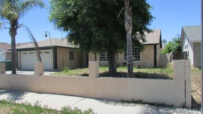 Moreno Valley Single Family Home For Sale: 13603 Ramsdell Drive