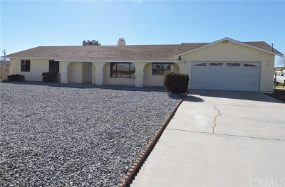 Apple Valley Single Family Home For Sale: 21055 Yucca Loma Road