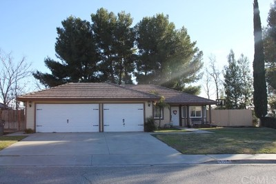 Banning Single Family Home For Sale: 3656 White Oak Drive