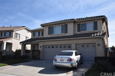Fontana Single Family Home For Sale: 16293 Avenal Place