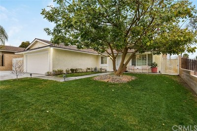 Rancho Cucamonga CA Single Family Home For Sale: $519,000