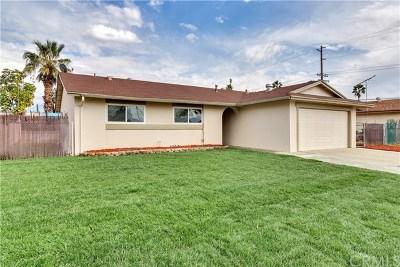 Redlands Single Family Home For Sale: 1608 Glover Street