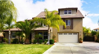 Riverside, Temecula Single Family Home For Sale: 19764 Shadowbrook Way