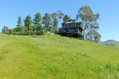 San Luis Obispo County Single Family Home For Sale: 4890 Coyote Canyon Road