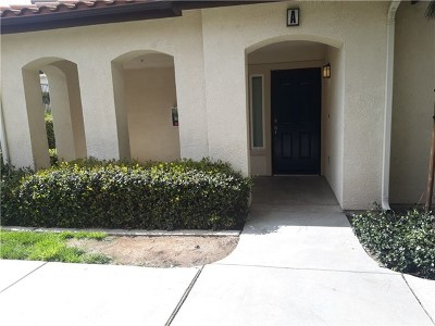 Riverside, Temecula Condo/Townhouse For Sale: 15886 Lasselle Street #A