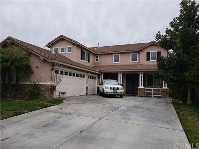 Perris Single Family Home For Sale: 188 Goldenrod Avenue