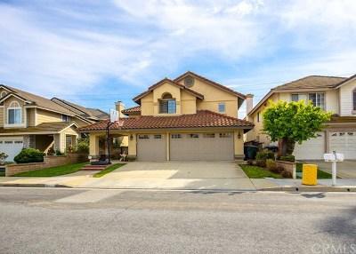 Chino Hills Single Family Home For Sale: 2441 White Dove Lane