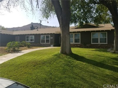 Jurupa Single Family Home For Sale: 7171 Font Avenue