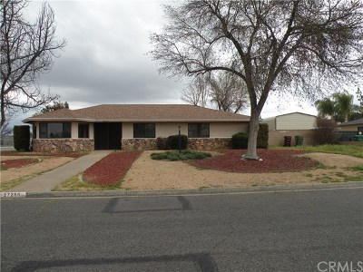 Hemet Single Family Home For Sale: 27266 Pacifica Court