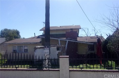 Fontana Single Family Home For Auction: 17187 Barbee Street