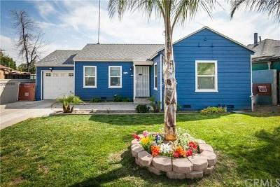 San Bernardino Single Family Home For Sale: 1123 W 15th Street