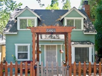 Crestline Single Family Home For Sale: 23921 Springwater Road
