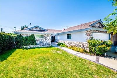 Whittier Single Family Home For Sale: 10543 Hester Avenue