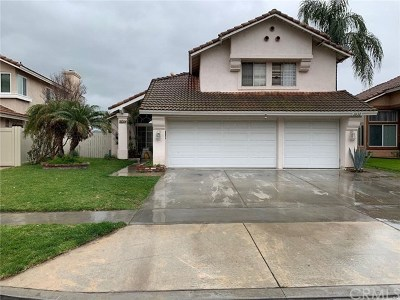 Corona Single Family Home For Sale: 2632 Las Mercedes Lane