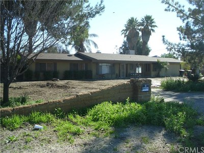 Hemet, San Jacinto Single Family Home For Sale: 711 N Lyon Avenue