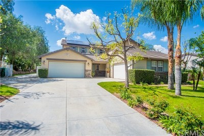 Norco Single Family Home For Sale: 3372 Deputy Evans Drive