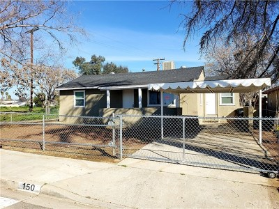 Perris Single Family Home Active Under Contract: 150 W 11th Street