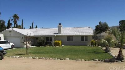 Hesperia Single Family Home For Sale: 7733 Pismo Avenue