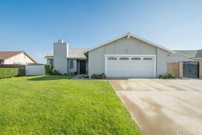 Rialto Single Family Home For Sale: 843 Scott Street