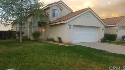 Moreno Valley Single Family Home For Sale: 27406 Englewood Street