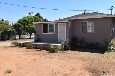Jurupa Single Family Home For Sale: 6852 37th Street