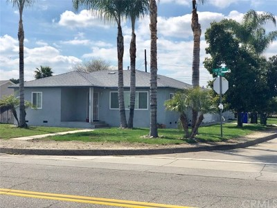 Chino Multi Family Home For Sale: 11482 Pipeline Avenue