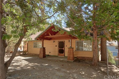 Arrowbear, Big Bear, Blue Jay, Cedar Glen, Cedarpines Park, Crestline, Lake Arrowhead, Running Springs Area, Rimforest, Twin Peaks, Wrightwood Single Family Home For Sale: 33063 Blue Bird Lane