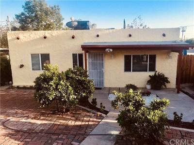 Yucaipa Single Family Home For Sale: 34919 Avenue D