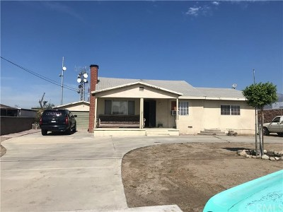 Rialto Single Family Home For Sale: 1382 N Maple Drive