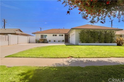 Huntington Beach Single Family Home For Sale: 10322 Kukui Drive