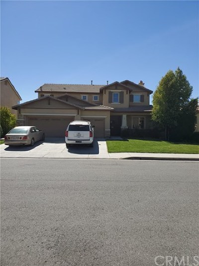 Menifee CA Single Family Home For Sale: $379,900