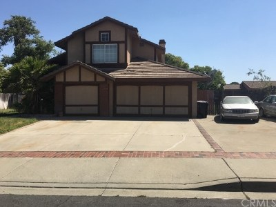 Rialto Single Family Home For Sale: 1691 W Summerset Drive