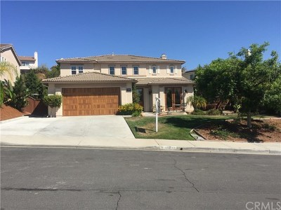 Murrieta Single Family Home For Sale: 40728 Clancy Court