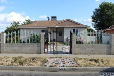 Rialto Single Family Home For Sale: 295 E Carter