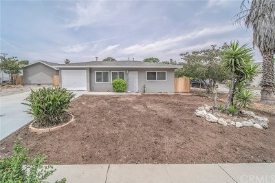 Upland Single Family Home For Sale: 1447 Chaffee Street