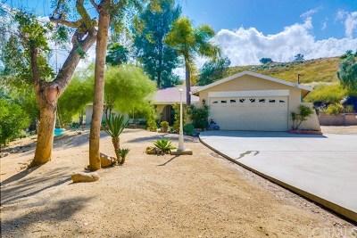 Corona Single Family Home For Sale: 8640 Glen Road