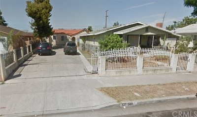 Carson CA Multi Family Home For Sale: $600,000