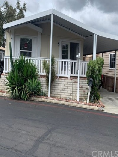 Tustin CA Mobile Home For Sale: $55,000